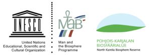 Biosfäärialueen logo